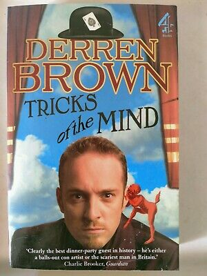 £10.85 • Buy As NEW Derren Brown Tricks Of The Mind Paperback Book Hypnosis Magic