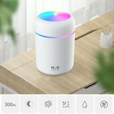 AU19.08 • Buy Relax ABS Car Mute Essential Oil Diffuser Air Humidifier For Home USB Powered