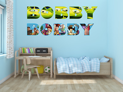 £14.99 • Buy Personalised Names Wall Sticker Decal Boys & Girls Decals Bedroom Decor Stickers