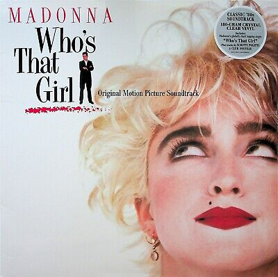 £14.99 • Buy MADONNA- Who's That Girl Soundtrack LP (NEW 180g Crystal Clear Vinyl) 1987 OST