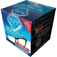 £2.99 • Buy Ultra Clean Touch Lens Wipes, Glasses Cleaning Wipe 52 Wipes Individually Packed