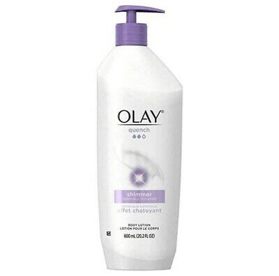 AU11.48 • Buy Olay Quench Shimmer Luminous Minerals Body Lotion 20.2 Fl Oz