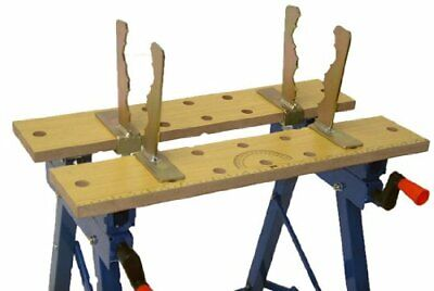 £29.99 • Buy Log Bench Clamps, Strong Log Grip For Safe, Sturdy, And Rotation Free Cutting