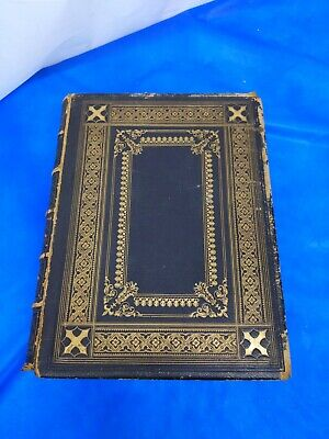£44.95 • Buy 1859 Eyre & Spottiswoode Holy Bible New & Old Testaments Leather Bound