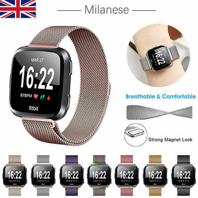 $ CDN10.27 • Buy Replacement Milanese Stainless Steel Straps Band For Fitbit Versa 3/Versa Sense