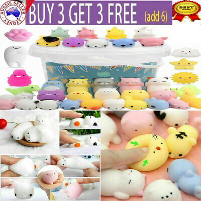 AU11.70 • Buy 10-50PCS  Animal Squishies Stress Relief Decompression Toys Fidget  Anti Anxiety