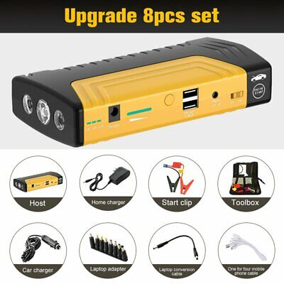 AU53.67 • Buy 89800mAh Portable Car Jump Starter Power Bank Vehicle Charger Battery Engine
