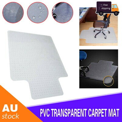 AU29 • Buy Home Office PVC Chairmat Chair Mat For Carpet Hard Floor Protector Computer Work