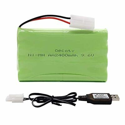 AU30.47 • Buy Gecoty 9.6V Ni-MH Battery Pack, 2400mAh Rechargeable AA Batteries Pack With Plug