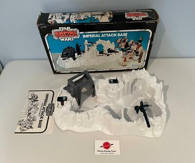 $ CDN178.82 • Buy 1980 Imperial Attack Base Complete With Box ESB Vintage Star Wars Kenner Playset
