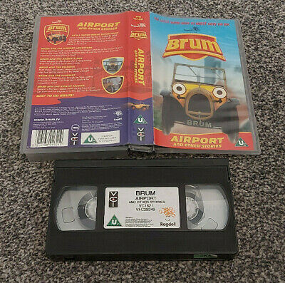 £16.50 • Buy Brum Airport And Other Stories Pal Vhs Video Kids Children