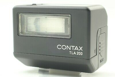 $ CDN349.93 • Buy [MINT+++ ] Contax TLA200 Black Shoe Mount Flash For G1 G2 From Japan #2103-16