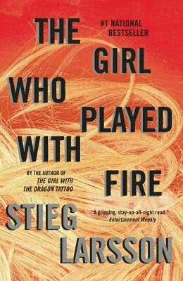 $4.03 • Buy Millennium Series: The Girl Who Played With Fire By Stieg Larsson (Paperback /