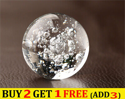£4.61 • Buy Dia 30-50mm Bubble Glass Crystal Ball Sphere Photography Props Lensball Decor