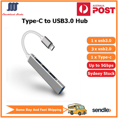 AU16.50 • Buy Type-C USB-C To USB3.1 Hub For MacBook Air/Pro