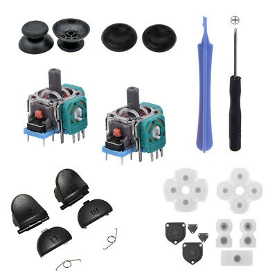 AU20.27 • Buy PS4 Controller Replacement Tools Kit Accessories Analog Buttons Pad Screwdriver
