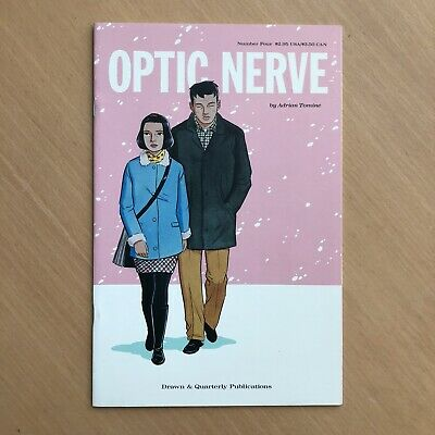 £5.50 • Buy OPTIC NERVE #4 Adrian Tomine First Printing Apr 1997 VF