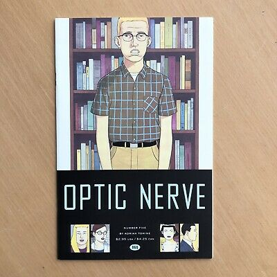 £6 • Buy OPTIC NERVE #5 Adrian Tomine First Printing Feb 1998 NM