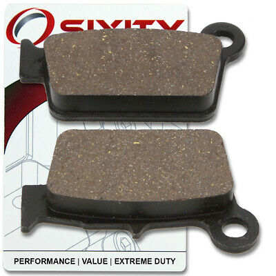 $13 • Buy Rear Ceramic Brake Pads 2005-2007 Yamaha YZ125 Set Full Kit T V W Complete Ph