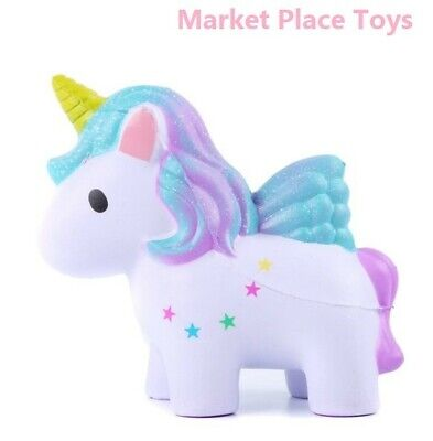 AU10.27 • Buy Lovely Cream Scented Unicorn Squishy Slow Rising Squeeze Anti Stress Soft Toys