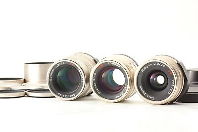 $ CDN1238.43 • Buy [Top MINT] Contax Carl Zeiss T* 28mm 45mm 90mm For G1 G2 From Japan