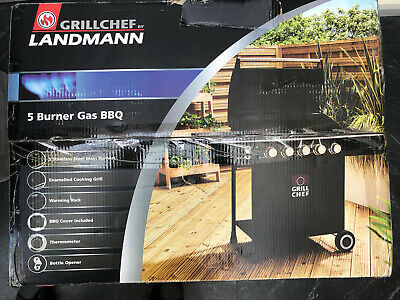 £325 • Buy Landmann 5 Burner Gas BBQ Grill - £300 Offer For Collections