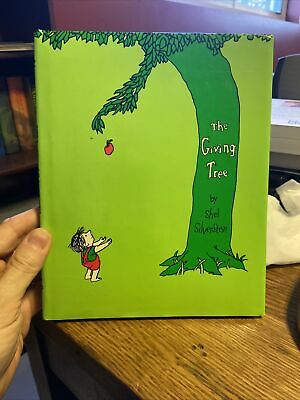 The Giving Tree By Shel Silverstein. HC/DJ Reprint • 5.09£
