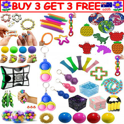 AU8.99 • Buy Fidget Toys Set Kit Sensory Tools Bundle Stress Relief Hand Kids Adults Toys TT
