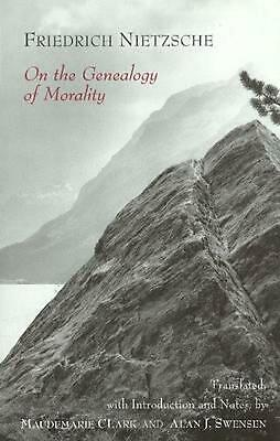 £15.65 • Buy On The Genealogy Of Morality: A Polemic By Friedrich Nietzsche (English) Paperba