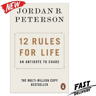AU15.30 • Buy 12 Rules For Life: An Antidote To Chaos Jordan Peterson PAPERBACK FREE SHIPPING!