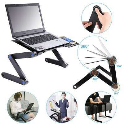£11.99 • Buy Durable Portable Foldable Notebook Laptop Desk Table Stand Bed Tray W/Cup Pad