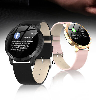 AU34.49 • Buy Women Waterproof Smart Watch Heart Rate Monitor Fitness Tracker Android IPhone