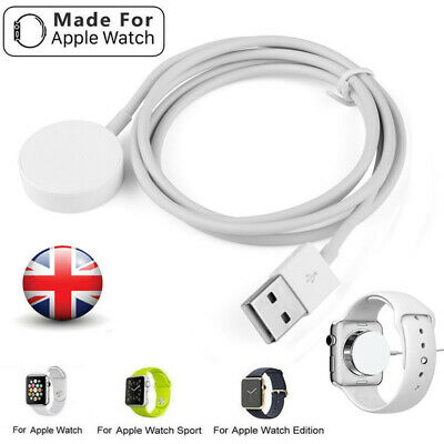 $ CDN7.93 • Buy UK For 38&42mm Magnetic Charger Charging Cable For Apple Watch Series 2/3 IWatch