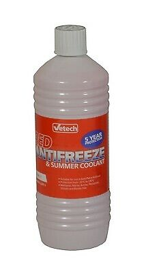 1L Antifreeze & Summer Coolant 1 Litre Red For BMW 3 Series E93 • 15£