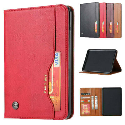 AU16.19 • Buy For Amazon Kindle Paperwhite1234/2018 6 Inch PU Leather Stand Wallet Case Cover