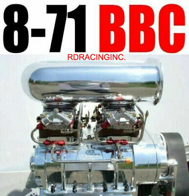 AU10906.50 • Buy Big Block Chevy The Blower Shop Supercharger 8-71 Polished 2v Package High Helix