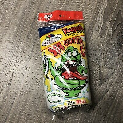 $ CDN974.17 • Buy The Real Ghostbusters Briefs Funpals New Rare Slimer 3 Pairs Vintage YA GOTTA