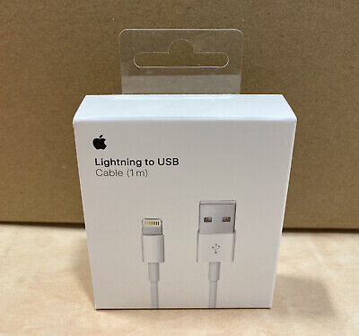 AU16.95 • Buy 100% Genuine Apple Lightning To USB Cable Charger IPhone (1m)