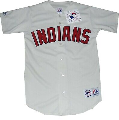 $59.95 • Buy New Cleveland Indians Alternate Replica Majestic Jersey A6400 New Tags
