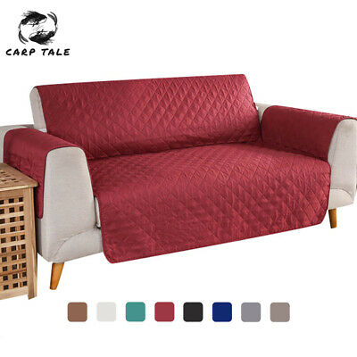 AU20.57 • Buy 1/2/3 Seater Sofa Cover Waterproof Couch Lounge Protector Slipcovers Pet Dog AU