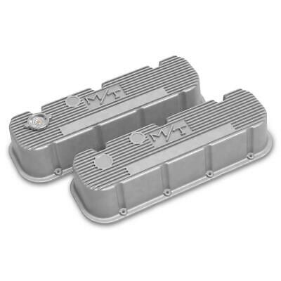 $290.95 • Buy Holley 241-150 Tall M/T Valve Covers, BBC Engines, Natural Cast