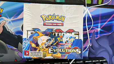 $800 • Buy XY Evolutions Booster Box Factory Sealed POKEMON TCG - 36 Booster Packs