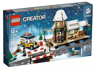 LEGO Creator Winter Village Station 2017 (10259) Christmas Building Kit 902 Pcs • 134.13£