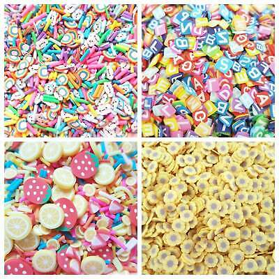 £2.60 • Buy 10g/20g Quality Kawaii Faux Mini Fruit Fimo Clay Slices Decoden Sprinkles Slime