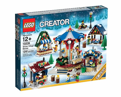 Lego 10235 Creator Christmas Winter Village Market Brand New Free Shipping  • 203£