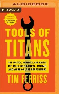 AU36.08 • Buy Tools Of Titans : The Tactics, Routines, And Habits Of Billionaires, Icons, A...