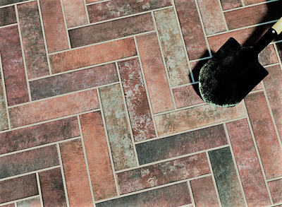 £69.99 • Buy BRICK FEATURE -  RUSTIC RED  7x28cm Porcelain Floor & Wall Tiles 5 Sq M REDUCED!