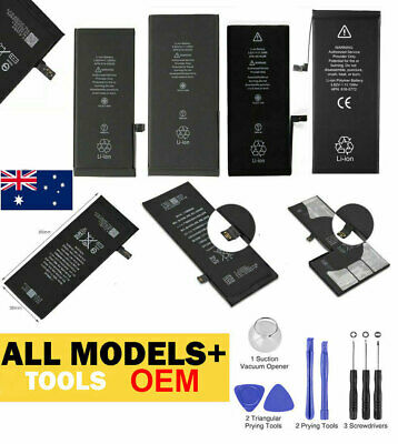 AU18.99 • Buy New Replacement Internal Battery For IPhone 8 7 6 6s Plus SE 5s 5c + Tool Kits