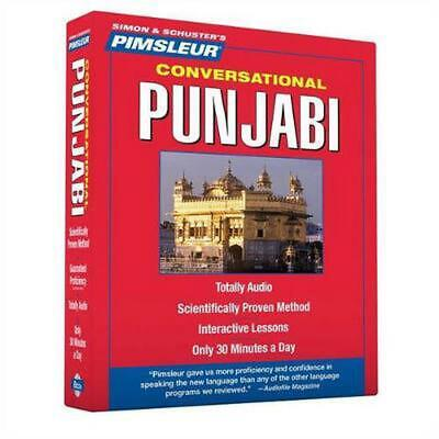£42.13 • Buy Pimsleur Conversational Punjabi: Learn To Speak And Understand Punjabi With Pims