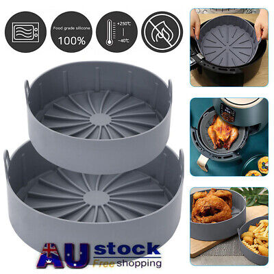 AU26.99 • Buy Air Fryer Silicone Pot Accessories Multifunctional Oven Fryers Tool Kitchen AU